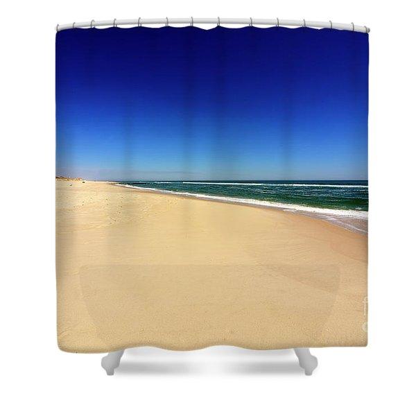 Holgate Beach At Long Beach Island Shower Curtain