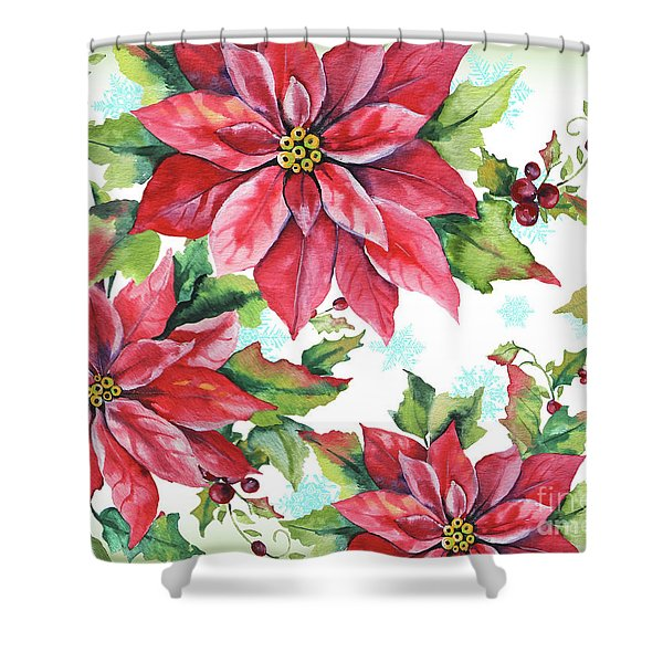Holiday Celebration-a Shower Curtain