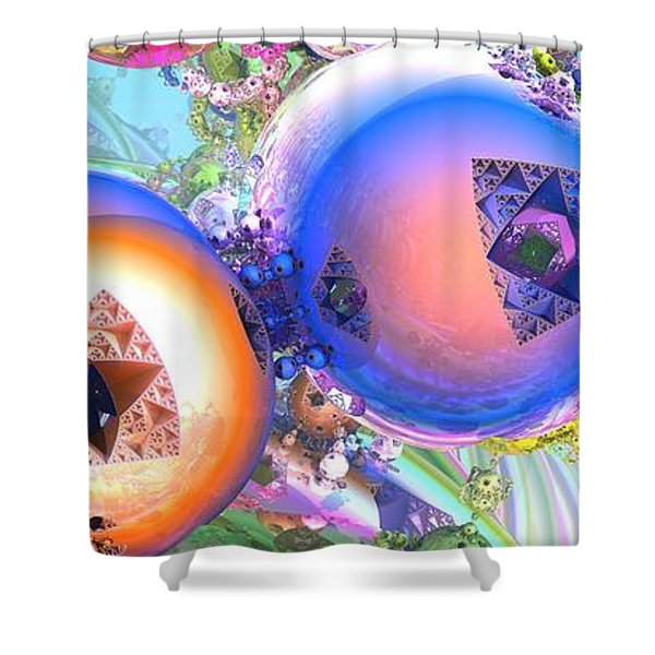 Holiday Celebrations Shower Curtain