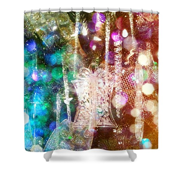 Holiday Fantasy Shower Curtain