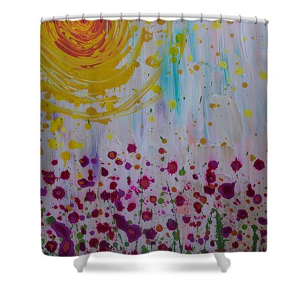 Hollynation Shower Curtain
