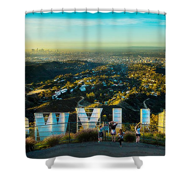 Hollywood Dreaming Shower Curtain