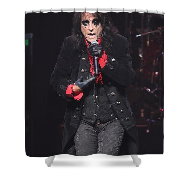 Hollywood Vampires Alice Cooper Shower Curtain