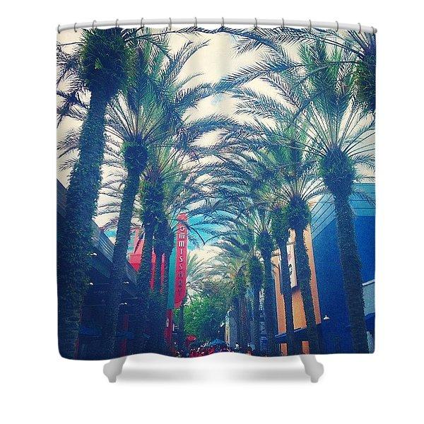 Hollywood Studios Shower Curtain