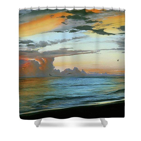 Holmes Beach Shower Curtain