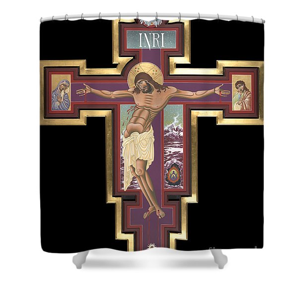 Holy Cross Of The New Advent 162 Shower Curtain