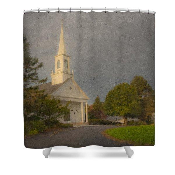 Holy Cross Parish Church Shower Curtain