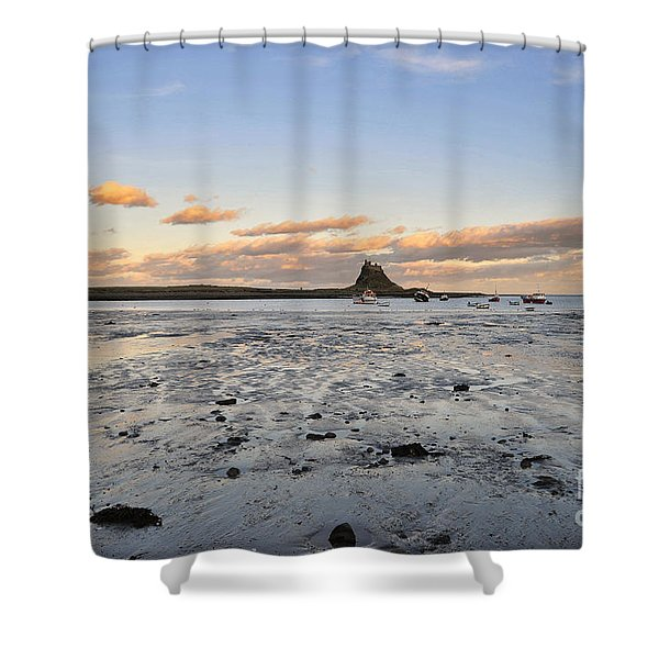 Holy Island Of Lindisfarne Shower Curtain