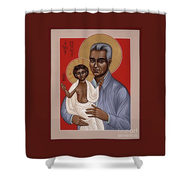 Holy New Martyr Rutilio Grande 050 Shower Curtain
