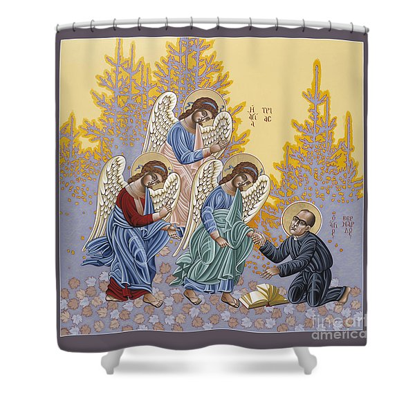 Holy Theologian Bernard Lonergan 122 Shower Curtain