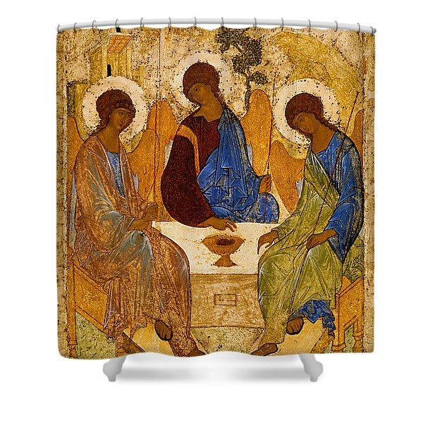 Holy Trinity. Troitsa Shower Curtain