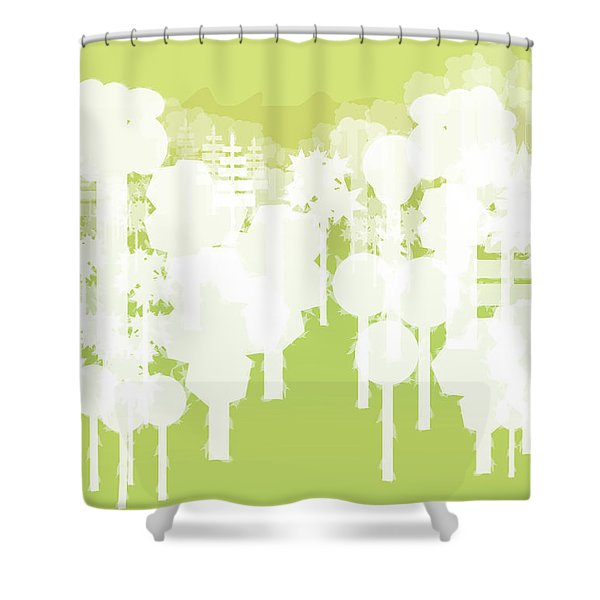 Holy Vale Shower Curtain