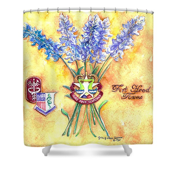Homage To Darnall Army Medical Center Shower Curtain
