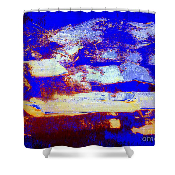 Homage To The Mary Celeste Shower Curtain