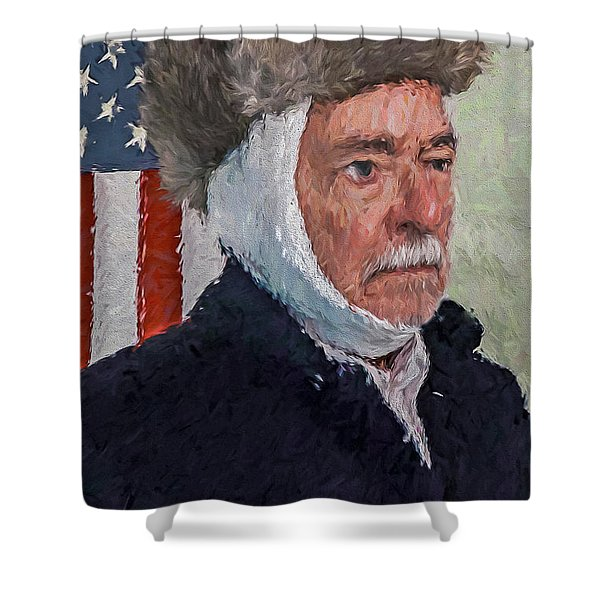 Homage To Van Gogh Two Shower Curtain