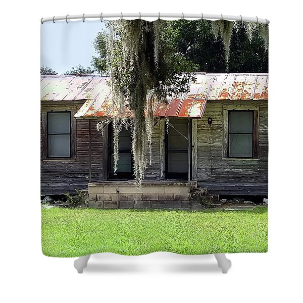 Home And Alone Shower Curtain
