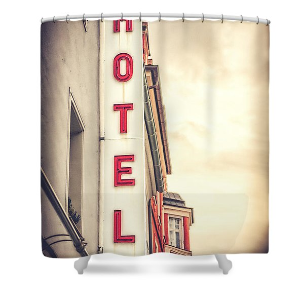 Home Is Home Shower Curtain