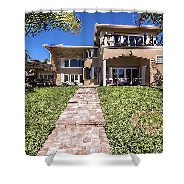 Shower Curtain featuring the photograph Home by Jody Lane