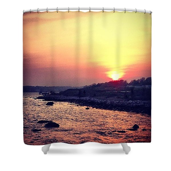 A Days End Shower Curtain