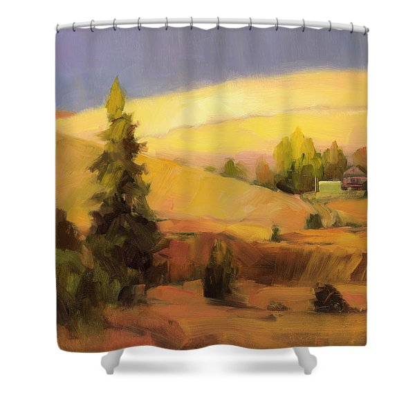 Homeland 2 Shower Curtain