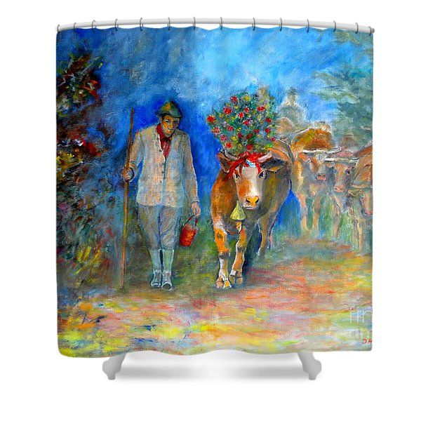 Homeland Museum Shower Curtain
