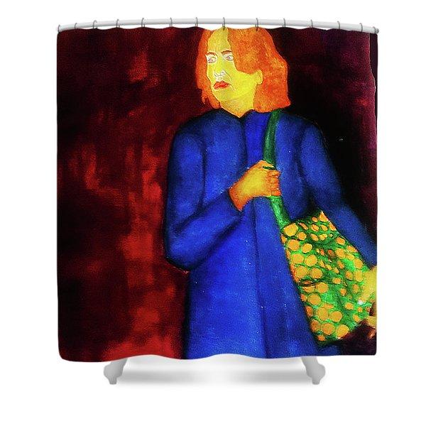 Homeless Girl Shower Curtain