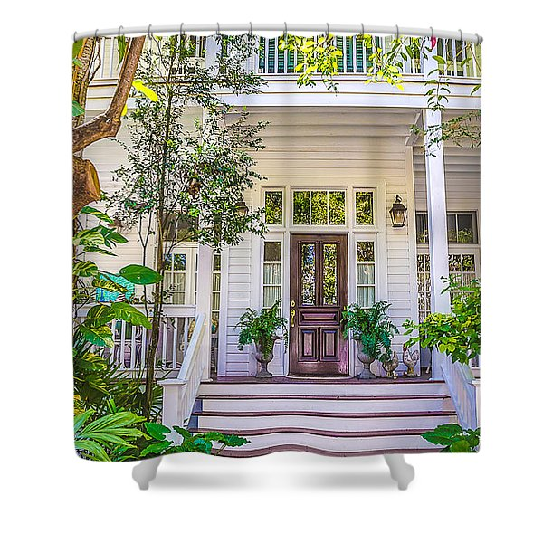 Homes Of Key West 4 Shower Curtain