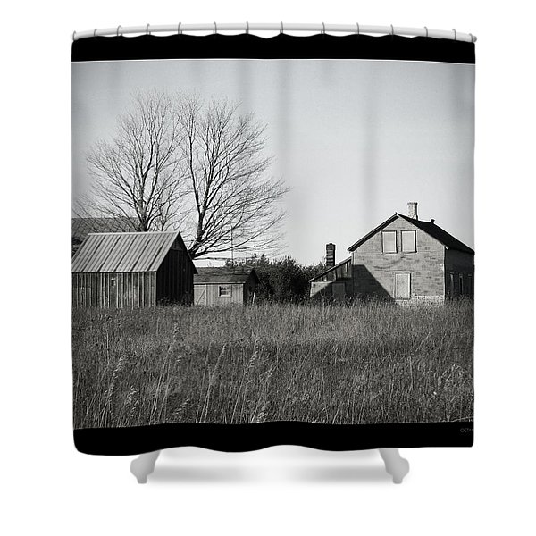 Homestead Shower Curtain