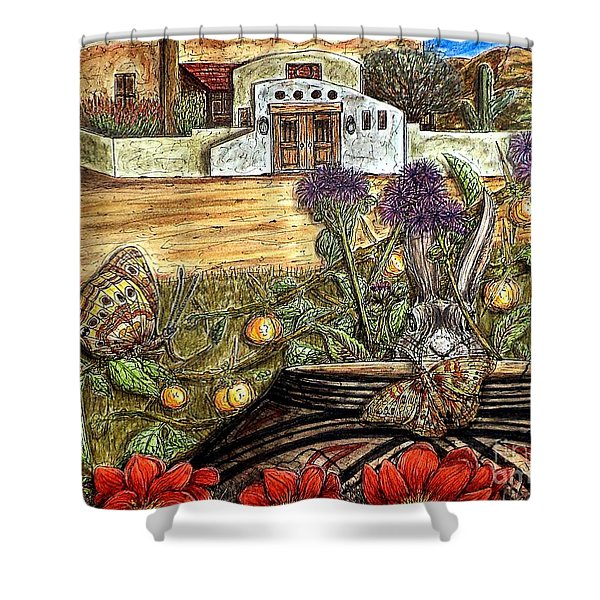Homesteading Shower Curtain