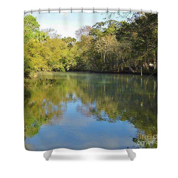 Homosassa River Shower Curtain
