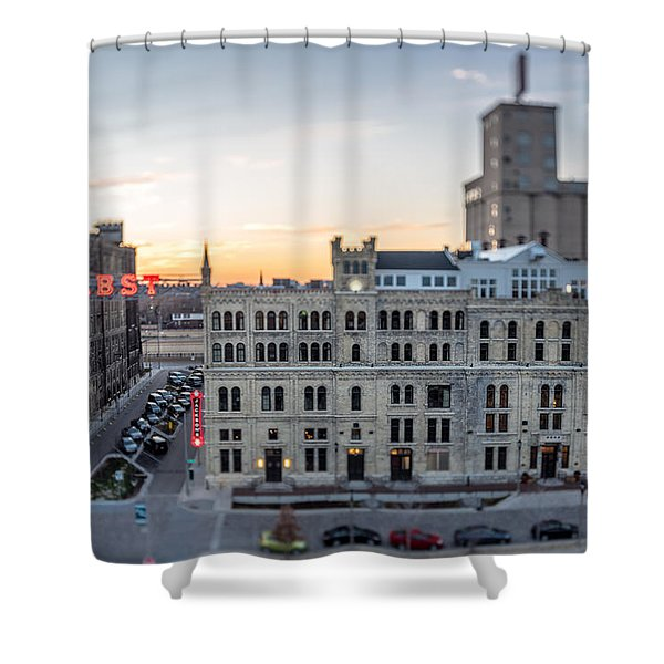 Honey I Shrunk The Brewery Shower Curtain