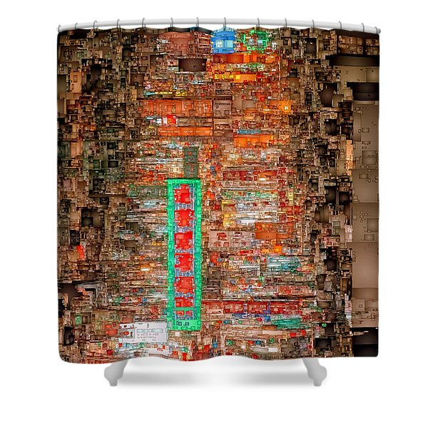 Hong Kong -yaumatei Shower Curtain