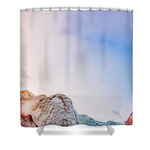 Hoo Doos At Sunset Shower Curtain