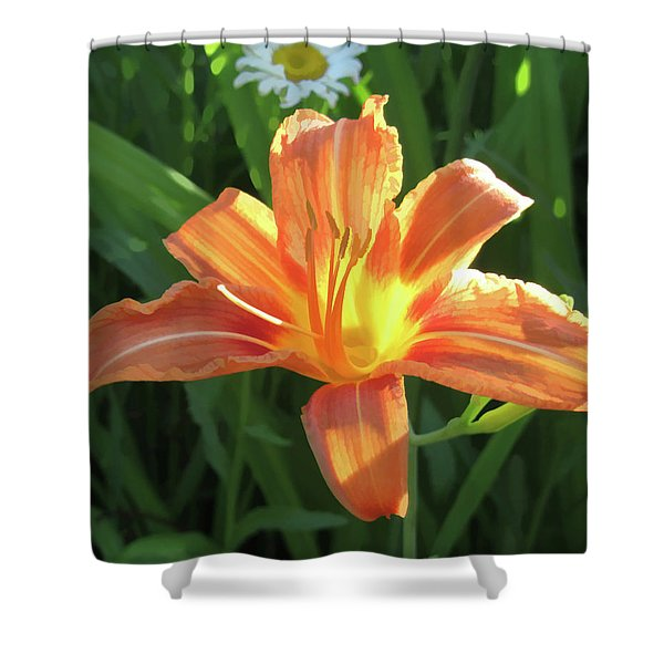 Hooray Summers Here Shower Curtain
