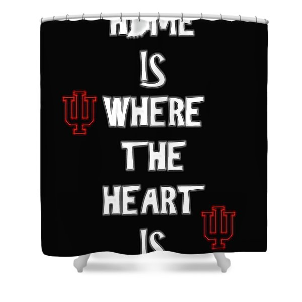 Hoosier For Life Shower Curtain