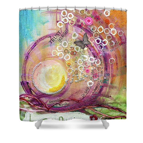 Hope Rising Shower Curtain