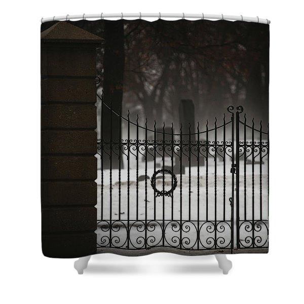 Hopeful Expectation Shower Curtain