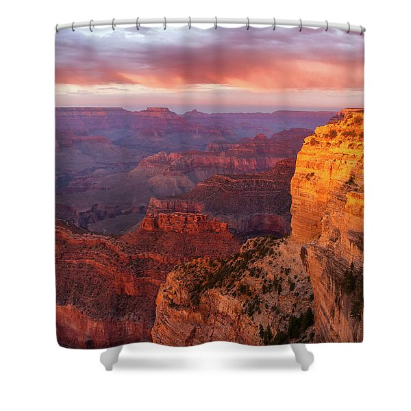 Hopi Point Sunset 3 Shower Curtain