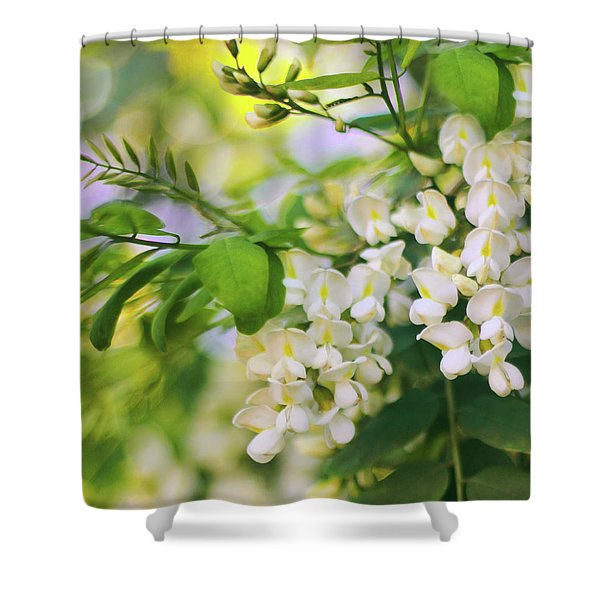 Black Locust Shower Curtain