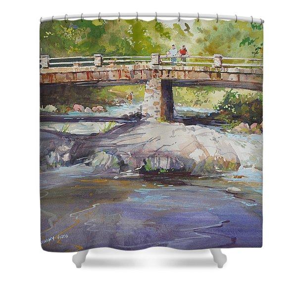 Hopper Bridge Creek Shower Curtain