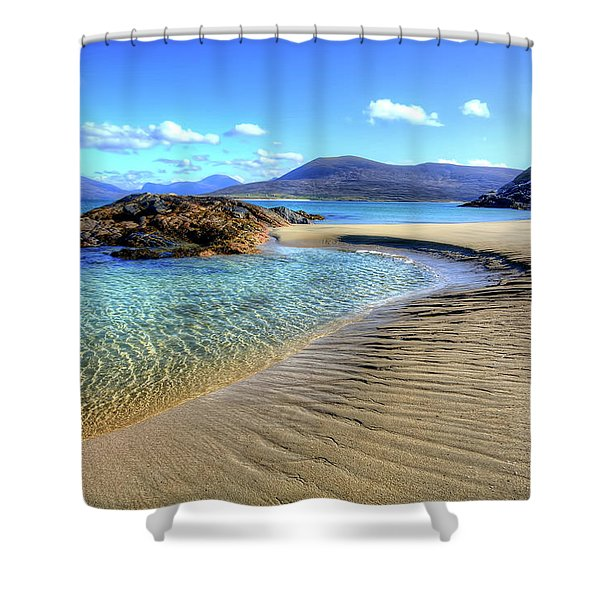 Horgabost - Isle Of Harris Shower Curtain