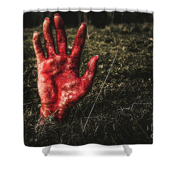 Horror Resurrection Shower Curtain