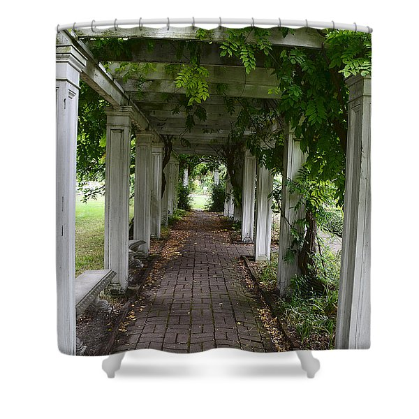 Horror Story Labyrinth Shower Curtain