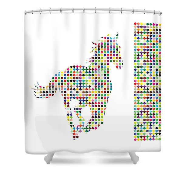 Horse 2 Shower Curtain