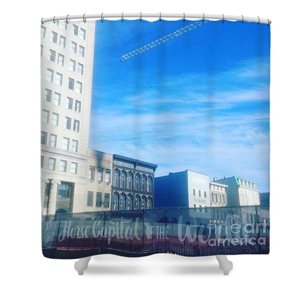 Horse Capital Of The World Shower Curtain
