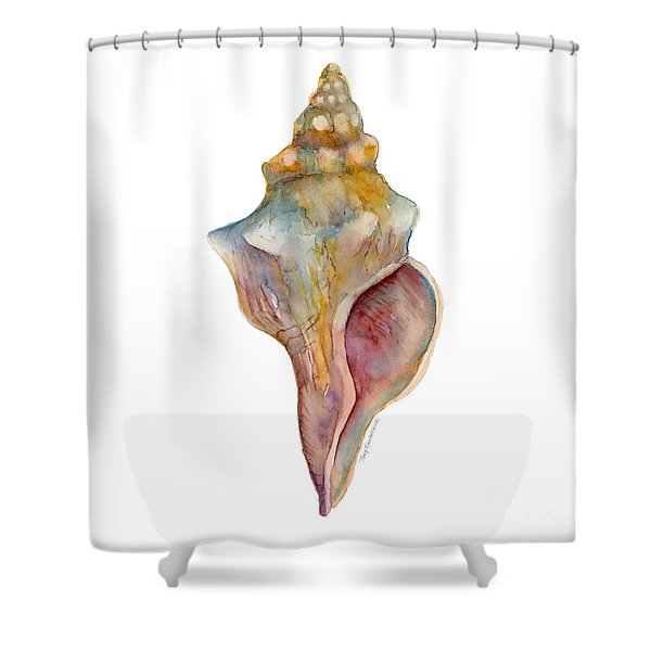 Horse Conch Shell Shower Curtain