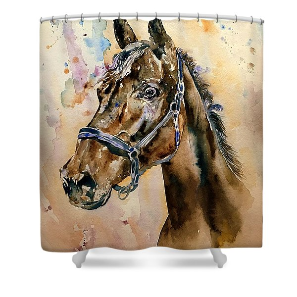 Horse Head Shower Curtain