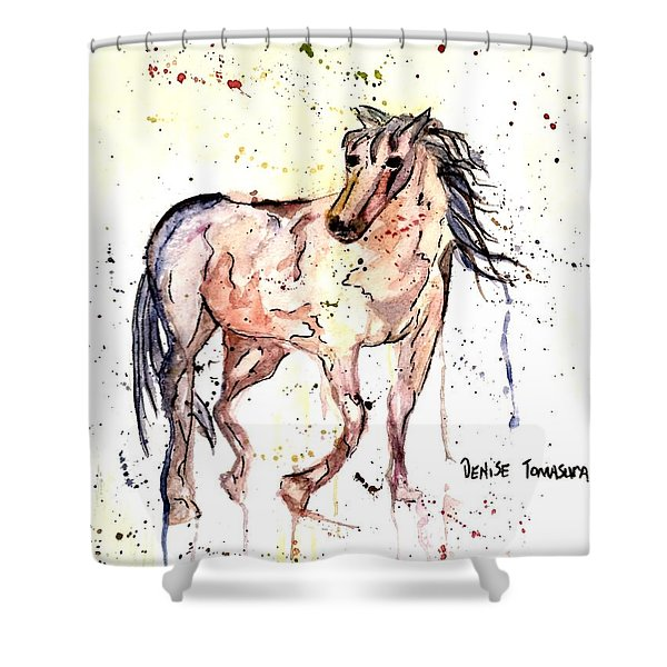 Horse Seekers Shower Curtain