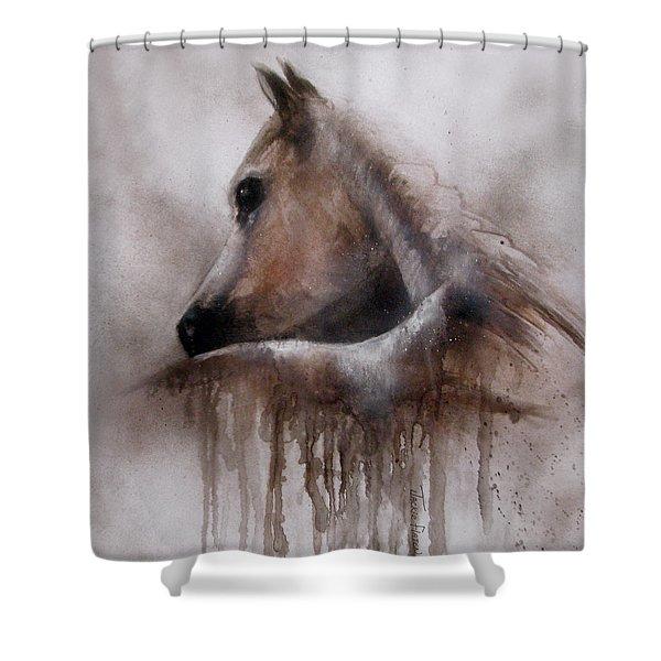 Horse Shy Shower Curtain