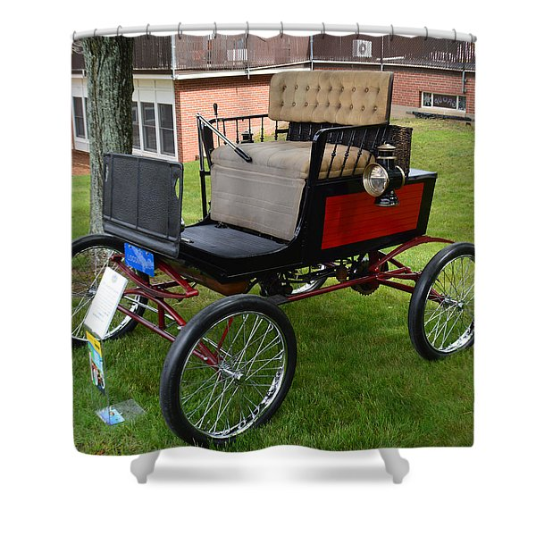 Horseless Carriage-c Shower Curtain